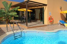 Villa with swimming pool in Corralejo