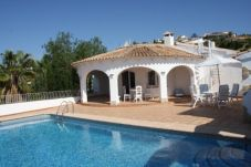 Villa with swimming pool in Moraira
