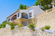 Villa in Moraira at 3 km from the beach