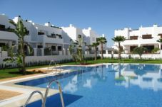 Beach front apartment in San Juan de los terreros