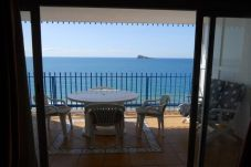 Beach front apartment in Benidorm