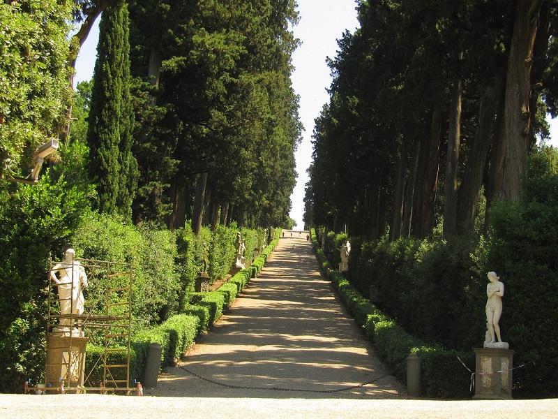 Boboli garden Florence