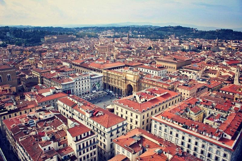 Florence panoramic view