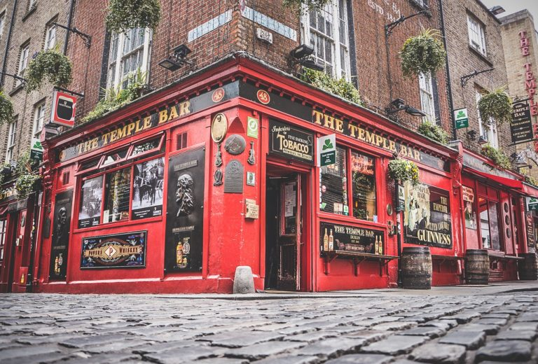 the temple bar city trip dublin