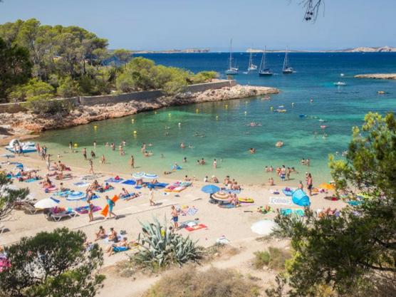best beaches of ibiza gracio