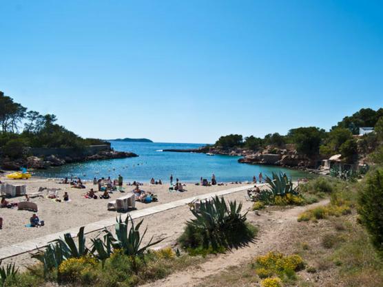 best beaches of ibiza gracioneta