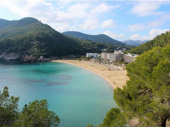 best beaches of ibiza san vicente