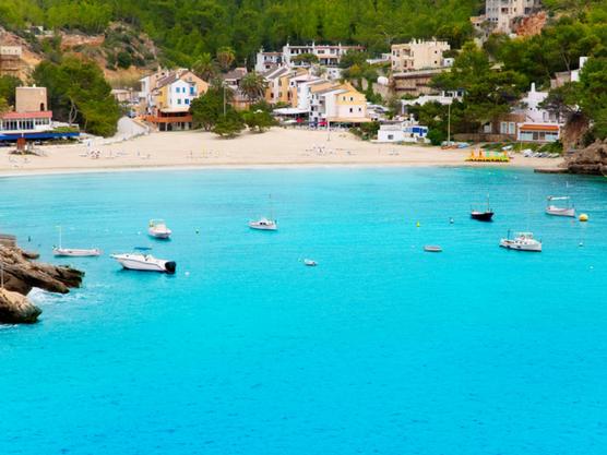 best beaches of ibiza vadella
