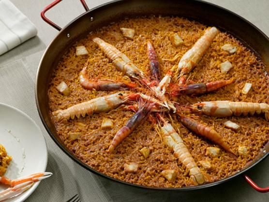 gastronomy of the costa blanca paella seafood