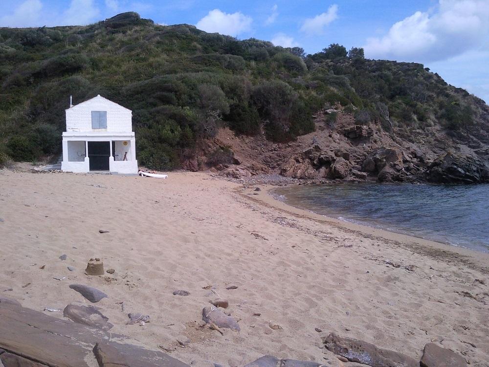 naturist beaches in menorca es grau