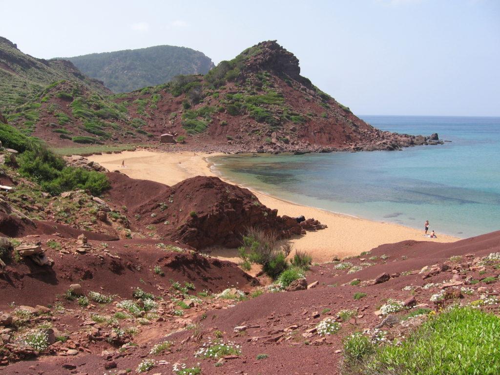 naturist beaches in menorca cala pilar
