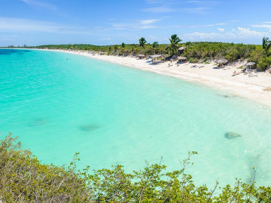 beaches of cuba cayo de las brujas