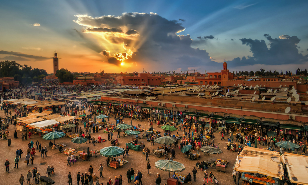 things to do in marrakech panoramic view