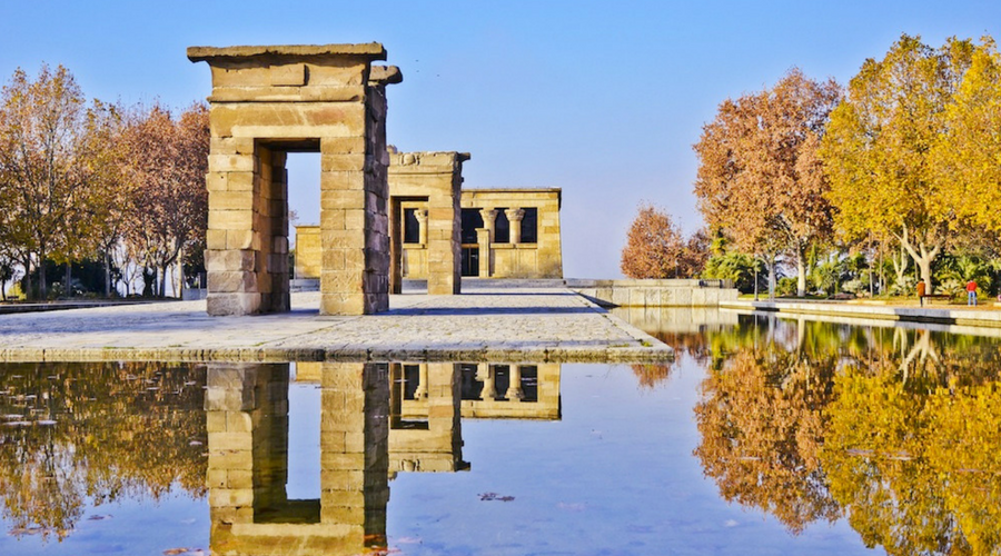 what to do in madrid debod temple