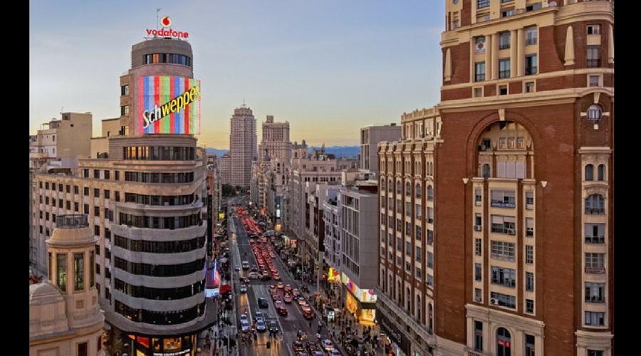 what to do in madrid gran via