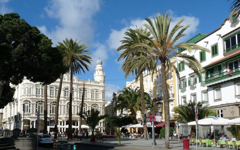 city gran canaria spanish islands
