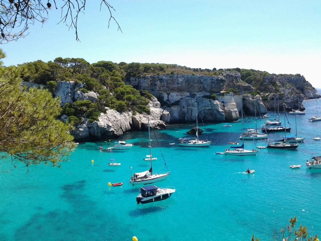 cala minorca spanish islands