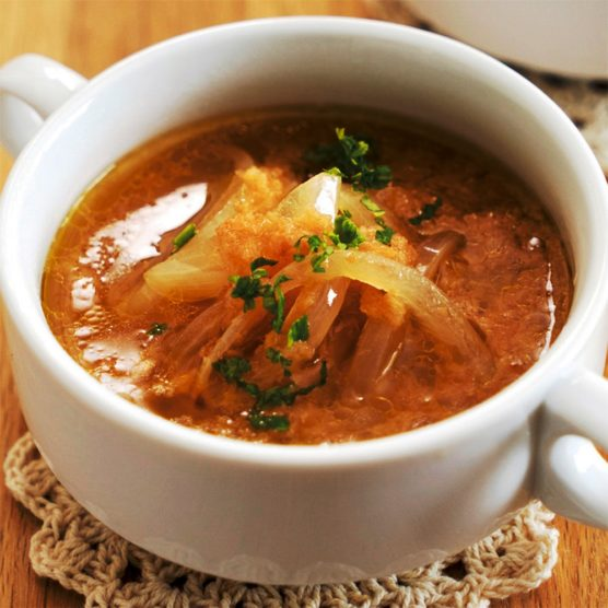 christmas dinner recipes onion soup