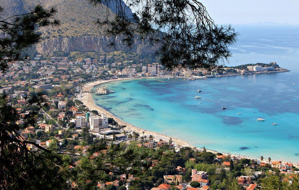 beach sicily history of palermo