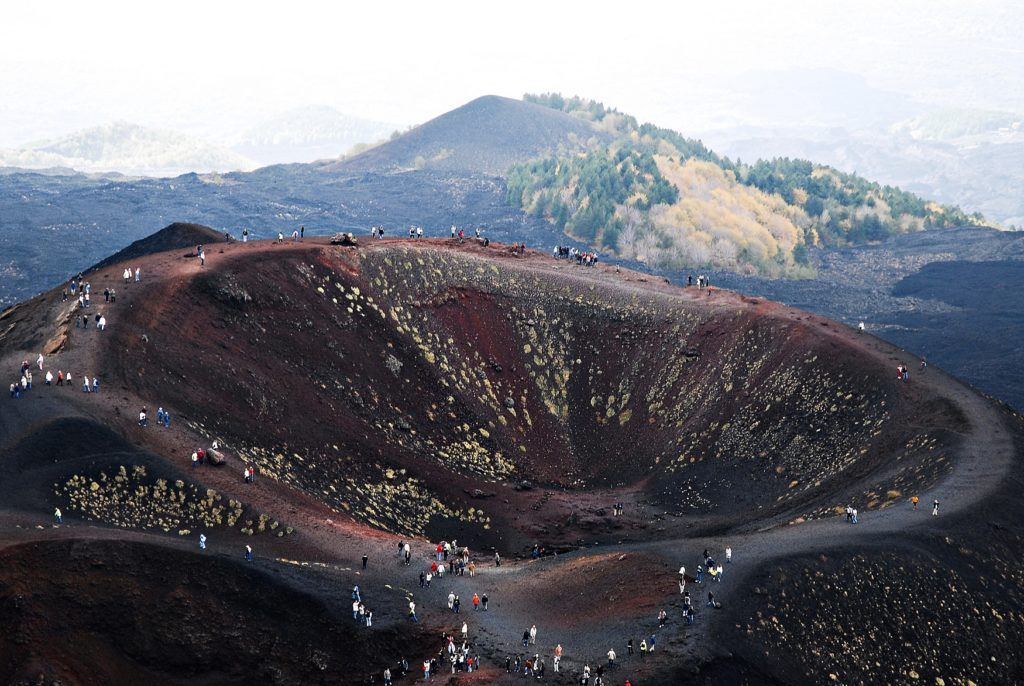 The impressive The Etna Volcano what to do in sicily