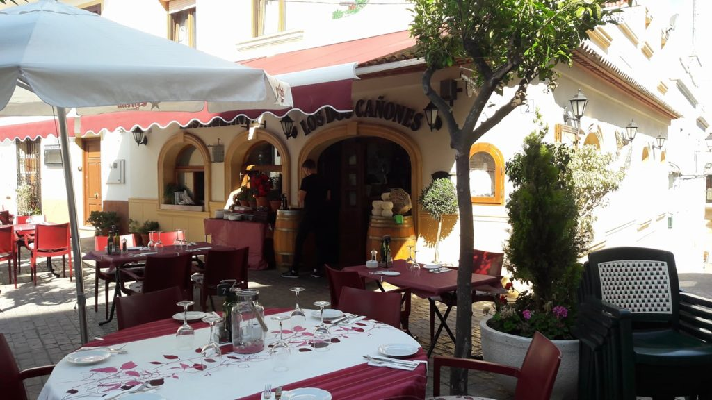 the 5 best family restaurants in calpe cañones