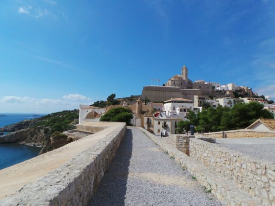 ibiza with kids old town dalt vila