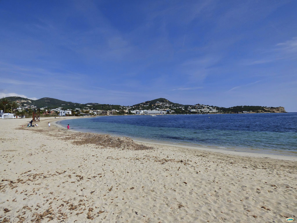 ibiza with kids talamanca beach