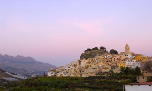 the towns of the costa blanca polop