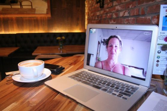 tips for a solo travel skype