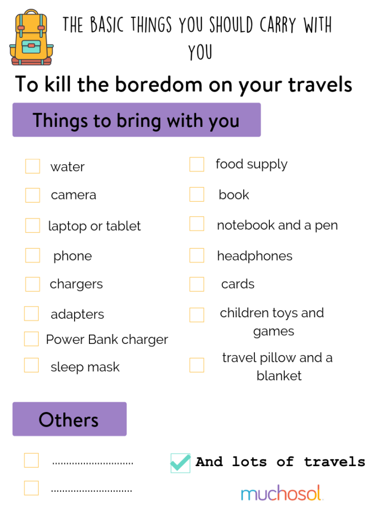 how to stop feeling bored while travelling