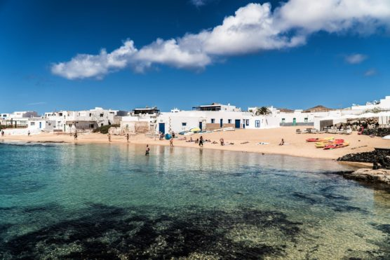from Lanzarote to la Graciosa
