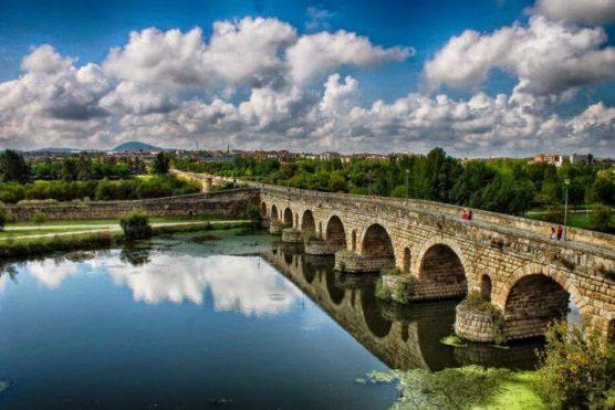 Roman bridge in Mérida